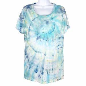 MOSSIMO Custom Tie Dye Short Sleeve Tshirt XXL